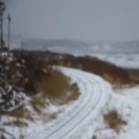 冬の五能線撮影