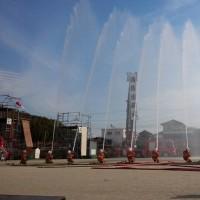 消防広域化(豊明市と尾三消防組合)について、消防組合議会で質問しました。