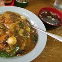 今日のお昼は中華丼!@安屋 桑袋団地
