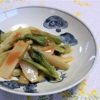 山菜のウド=ヤマウドは、美味しかったです(*´▽`*)