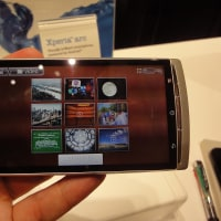 2011CES Sony Xperia arc, PSP phoneは?!