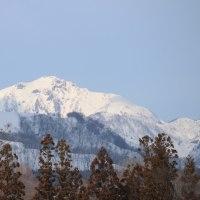 3月13日の雨飾山
