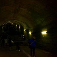 天国への階段、土合駅。