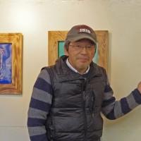 田中昭則写真展!ほっこりライブの毛利さん来蔵!