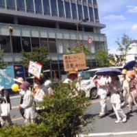 「原発いらない」デモに行ってきました。