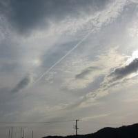 幻日と彩雲