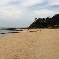 鳴り砂  のどかな東海岸