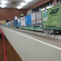 引き込み線を取り込んだモジュールレイアウト (第16回鉄道模型関東合同運転会にて)