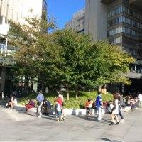 街ナカみどり    東京、大阪、佇む人々