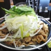 吉野家「牛すき鍋膳」の昼
