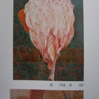 フラミンゴの描き方いろいろ