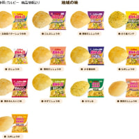 都道府県別ポテトチップス