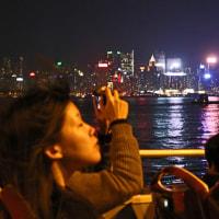 香港 オープントップバス乗車 3