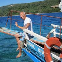 フィリピン南部のダバオでダイビング