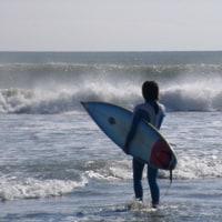 近くの海岸へ遊びに行った時