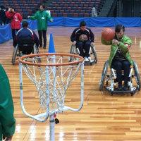 車椅子バスケ