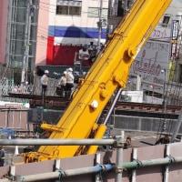 小田急線複々線化アップデート 03/2017: 下北沢駅で線路が宙を飛ぶ??