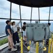 海の日で美保関灯台一般公開