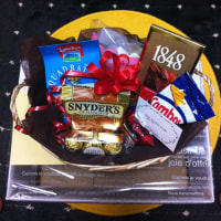 a sweets basket from USA