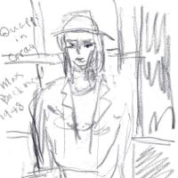 朝日記 161125 旅の音楽絵画5編と 今日の絵