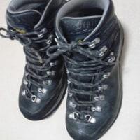 登山靴のアゾロのお手入れ