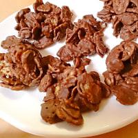材料2つとシナモンシュガーで!孫っちたちに超簡単チョコ