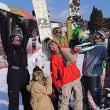 Snowboarders.