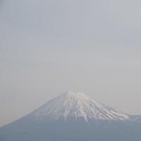 2017/4/17の富士山と新幹線