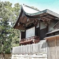 山城の神社・・・八幡市上津屋・石田神社(いわたじんじゃ)