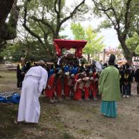 大麻比古神社・秋祭り:宵宮