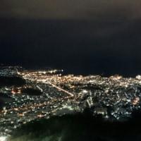 天狗山から小樽の夜景  (