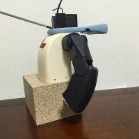 ロボットRobiの製作に挑戦 第3段階 左腕の製作