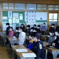 本日の読み聞かせ(2月8日) 6年2組