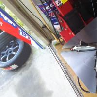 レガシー タイヤ交換 冬の準備?