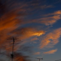 秋の夕焼けその1