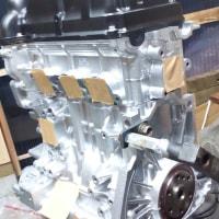 DA64V 660cc エンジン完成
