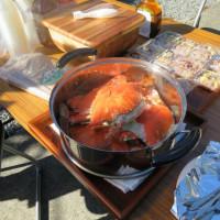 蟹パーティー
