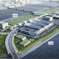 豊洲新市場 5街区(青果棟)の進捗状況 2016年10月15日