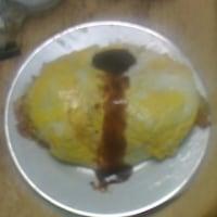 昨日は『オムライス』を食べました!!