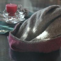ニット帽とシャンティー
