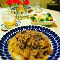 最近の夕食 ♪冬野菜のぎゅうぎゅう焼き