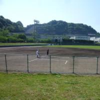 歴史ある陣山球場