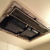 浴室乾燥暖房機の交換工事