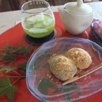 和食のレッスンのデザート