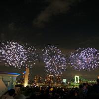 2017年お台場海浜公園の花火大会