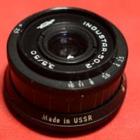「インダスター 50mm F3.5」到着