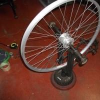自転車リム組み