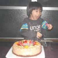 悠力誕生日 8歳