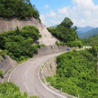 国道352号線(樹海ライン)~枝折峠越え(2015年8月)