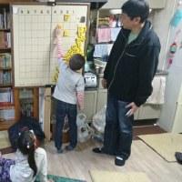 1月9日子供教室の風景
